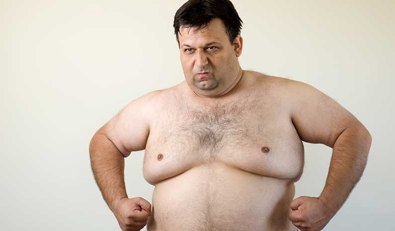 Hai un seno maschile allargato? E adesso?
